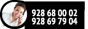 Atención al Cliente - 928 68 00 02 - 928 69 79 04